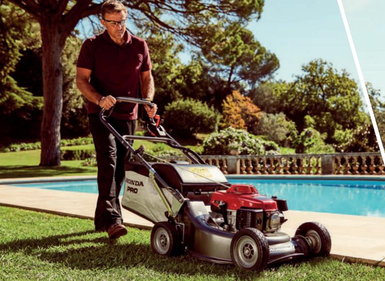 Honda HRD professional mower